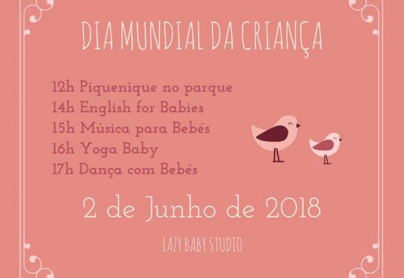 dança com bebes dia mundial da criança