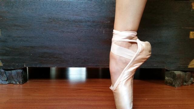 Como Calçar Sapatilhas de Ponta
